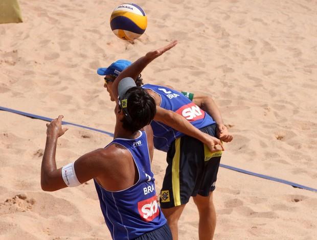 Emanuel e Ricardo (Foto: Divulgação/FIVB)