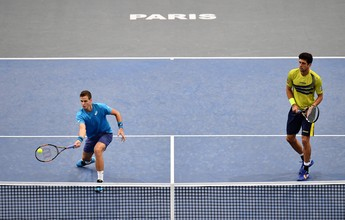 Melo e Pospisil perdem para algozes dos irmãos Bryan na semifinal em Paris