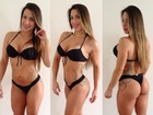Ex-BBB Michely Crisfepe posa depois de '60 dias sem treino e dieta'