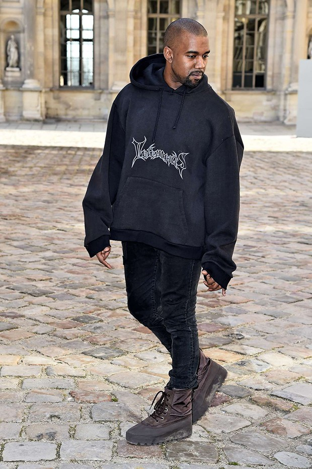 PARIS, FRANCE - MARCH 06:  Kanye West attends the Christian Dior show as part of the Paris Fashion Week Womenswear Fall/Winter 2015/2016 on March 6, 2015 in Paris, France.  (Photo by Pascal Le Segretain/Getty Images) (Foto: Getty Images)