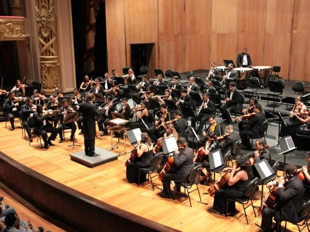 Orquestra Sinfônica de Barra Mansa, OSBM (Foto: Fabrício Rezende/Divulgação Música nas Escolas)