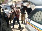 Presos em assalto queriam roubar celulares transportados por Correios
