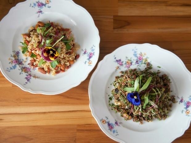 Receita do Dia 14: Arroz integral com amndoas e arroz vermelho com lentilha (Foto: Adriana Loretti)
