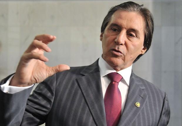 O presidente do Senado, Eunício Oliveira (PMDB-CE) (Foto: José Cruz/Agência Brasil)