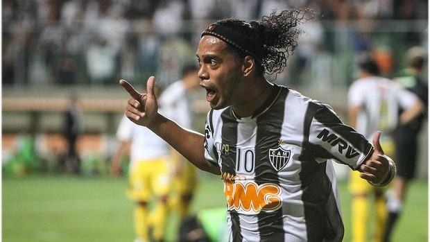 Ronaldinho Gaúcho, Independência, Atlético-MG (Foto: Bruno Cantini  / Site Oficial do Atlético-MG)