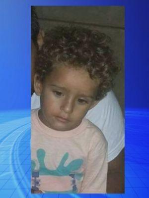 Menino de 2 anos e 10 meses foi enterrado neste domingo  (Foto: Reprodução / TV TEM)