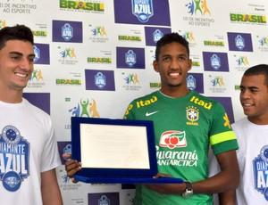 Wallace, zagueiro do Cruzeiro (Foto: Divulgação /  Cruzeiro)