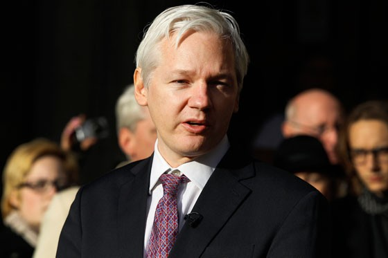 Julian Assange, fundador do Wikileaks (Foto: AP Photo/Kirsty Wigglesworth)
