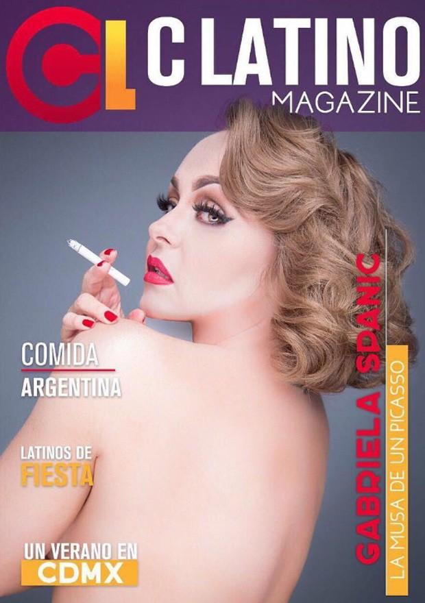 Gabriela Spanic (Foto: Reprodução/C Latino Magazine)