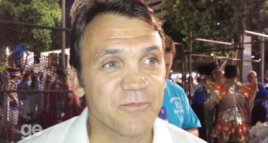 Gringo no samba!
