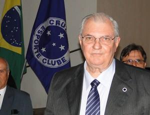 Gilvan de Pinho Tavares, presidente do Cruzeiro (Foto: Maurício Paulucci)