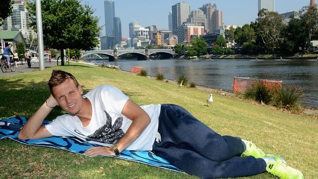 Tomas Berdych aberto da australia tenis (Foto: Getty Images)