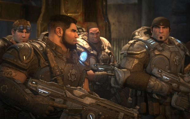 'Gears of War Ultimate' foi treino para 'Gears 4', diz produtor do game E32015_gears2-g1