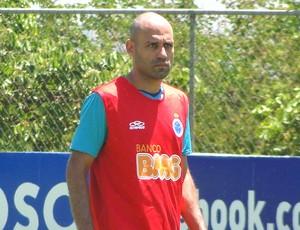 Treino Cruzeiro Bruno Rodrigo (Foto: Gabriel Duarte)