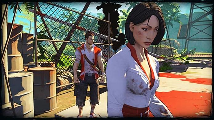 Xian Mei aparece em Escape Dead Island com sua própria agenda (Foto: Game Front)