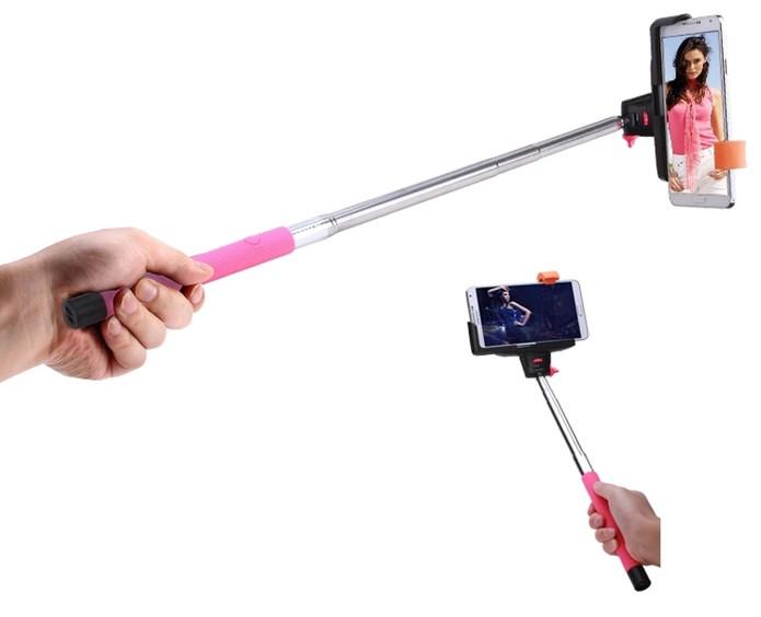 Pau de selfie faz com que celulares cheguem às alturas e uma queda pode ser perigosa (Foto: Divulgação)