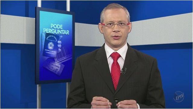 Especialista em Previdência Social esclarece às dúvidas dos telespectadores  (Foto: Reprodução EPTV)