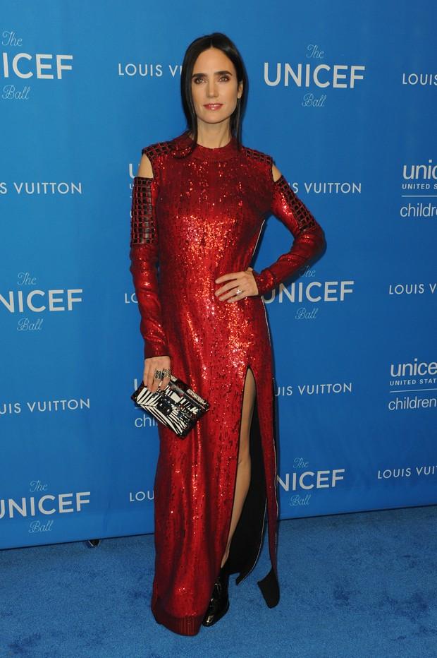Jennifer Connelly em evento em Los Angeles, nos Estados Unidos (Foto: Joshua Blanchard/ Getty Images/ AFP)