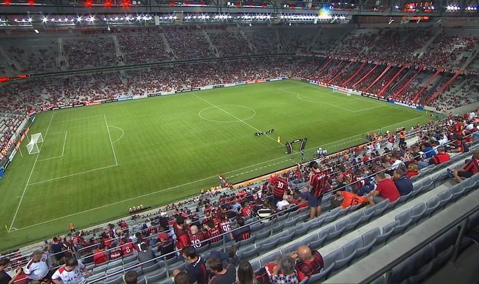 Com todos os ingressos para a partida contra o Atlético-PR vendidos para a  partida de amanhã pela Libertadores pela internet, o Flamengo divulgou o  serviço ...