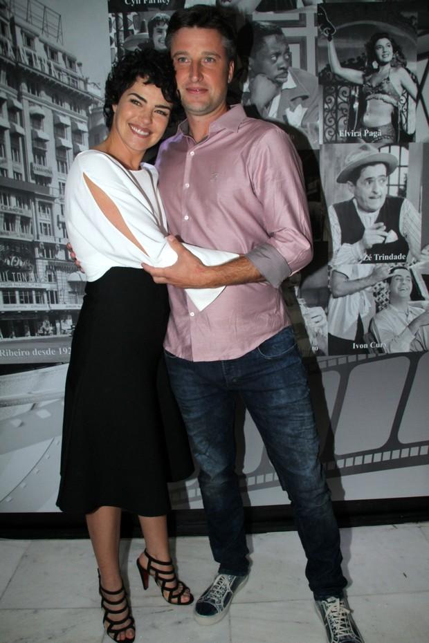 Ana Paula Arósio e Henrique Plpmbon (Foto: Foto Rio News/Graça Paes)