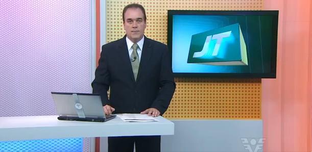 Tony Lamers no Jornal da Tribuna 1ª Edição (Foto: divulgação)