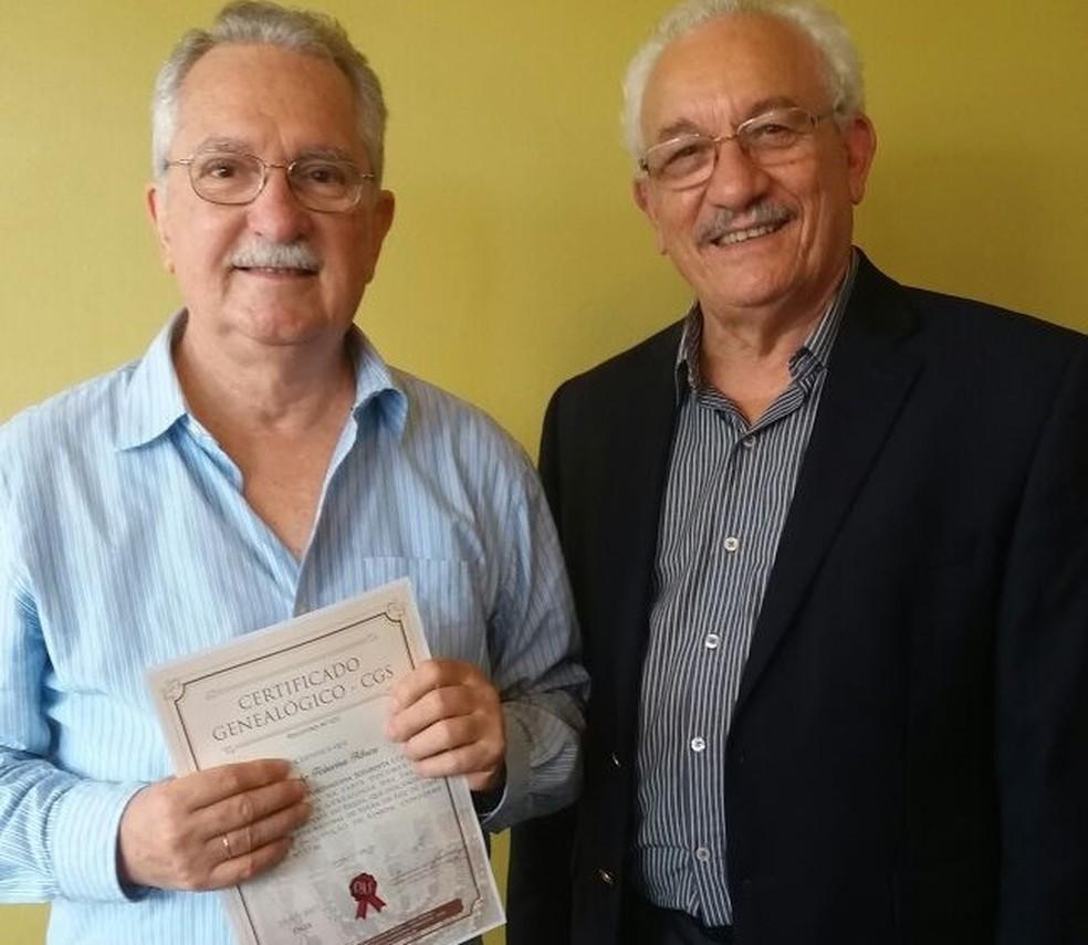 Henrique Sérgio Abreu e Assis Arruda investiram meses de pesquisa para comprovar a ascendência em judeus expulsos da Europa (Foto: Assis Arruda/Arquivo pessoal)