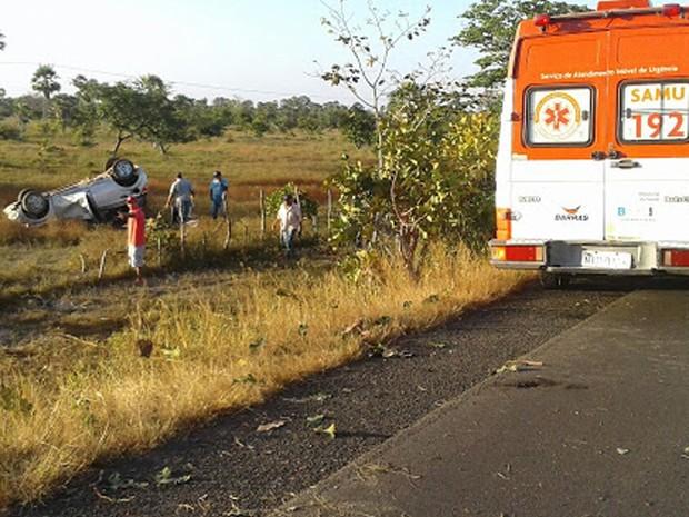 Equipes do Samu foram acionadas para o atendimento das vítimas (Foto: Divulgação/GAV)