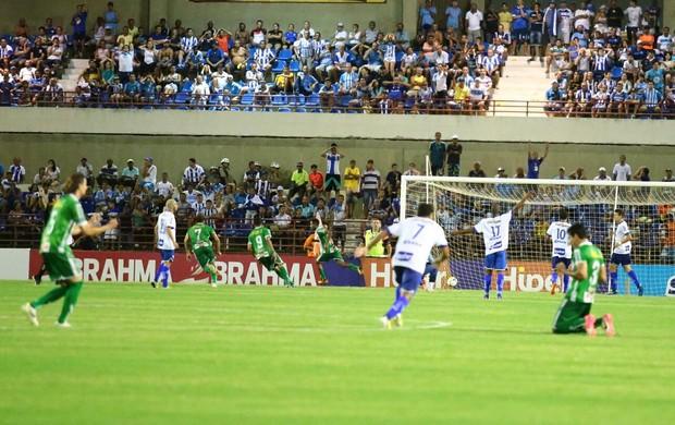 CSA x Vitória da Conquista, no Rei Pelé (Foto: Jonathan Lins/G1)