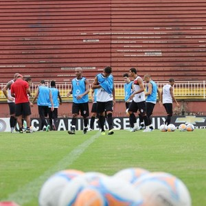 treino Joinville JEC (Foto: Jose Carlos Fornér/Assessoria JEC)