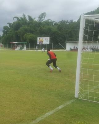 Jogo aconteceu em Xerém, distrito de Duque de Caxias (Foto: Allysson Costa/Barra Mansa FC)