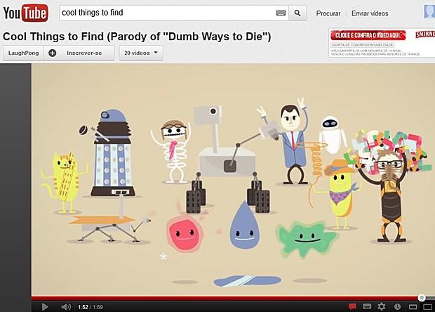 Curiosity (Foto: YouTube/Reprodução)