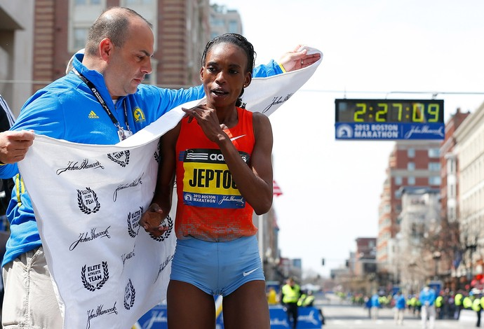 Rita Jeptoo maratonista (Foto: Getty Images)