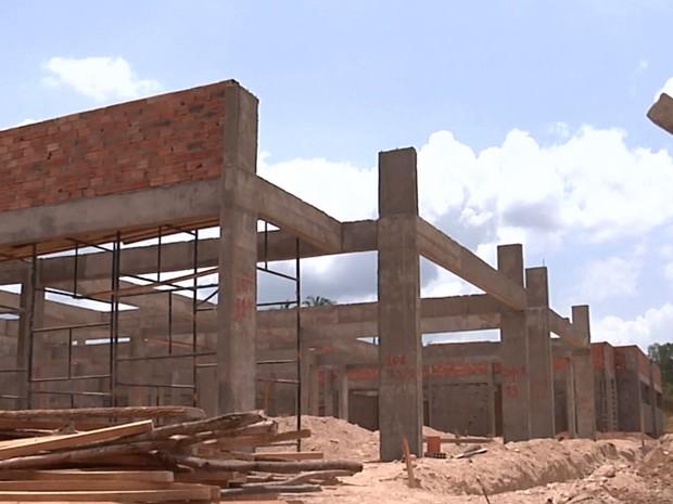 Obras das três creches em Codó deveriam ser entregues até fim de dezembro (Foto: Reprodução / TV Mirante)