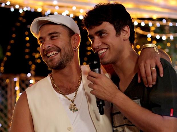 Diogo Nogueira e Pedro Bernardo malhação (Foto: Malhação / TV Globo)