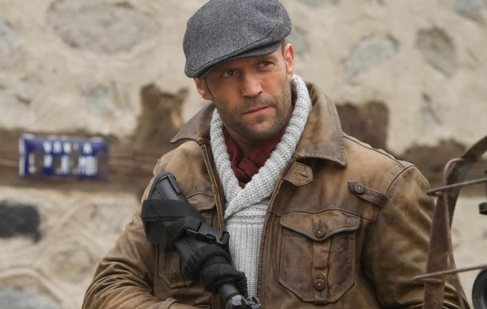 Jason Statham em 'Os Mercenários 3' (Foto: Divulgação)