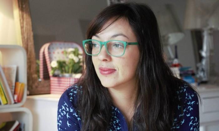 Natalia Borges Polesso, autora da obra Amora, que recebeu o Prêmio Jabuti na categoria Contos e Crônicas em 2016 (Foto: Acervo pessoal / Divulgação )