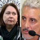 'Só divulgaram mentiras', diz mulher de Pizzolato (GloboNews/Folhapress)