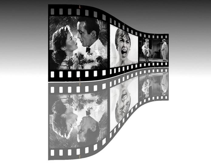 Rolos de filme eram inteiros preto e branco ou coloridos (Foto: Raquel Freire/TechTudo)