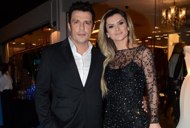 Mirella Santos e Wellington Muniz vivem entre Rio de Janeiro e São Paulo (Foto: AgNews)