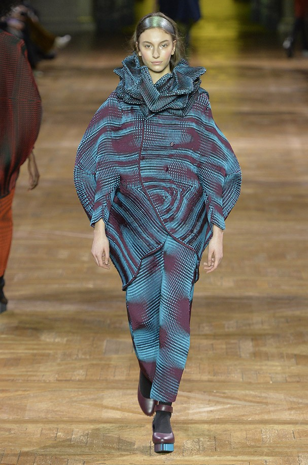 Inverno 2018 Issey Miyake (Foto: Getty Images)