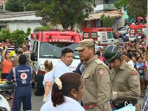 Acidente deixou vítimas fatais, em Manaus (Foto: Reprodução/TV Amazonas)
