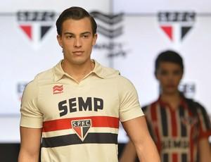 Nova camisa São Paulo (Foto: Mauro Horita)