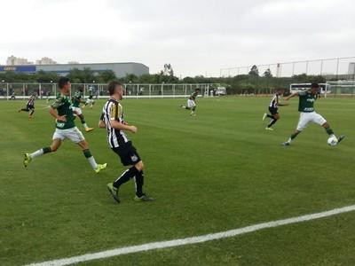 Palmeiras x Santos - sub-20 (Foto: Divulgação)
