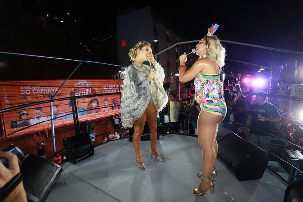 Valesca Popozuda e Claudia Leitte (Foto:  Dilson Silva / AgNews)