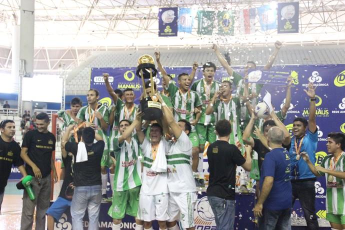 Amigos do Alfredo, campeão da Copa Rede Amazônica 2016 (Foto: Marcos Dantas)