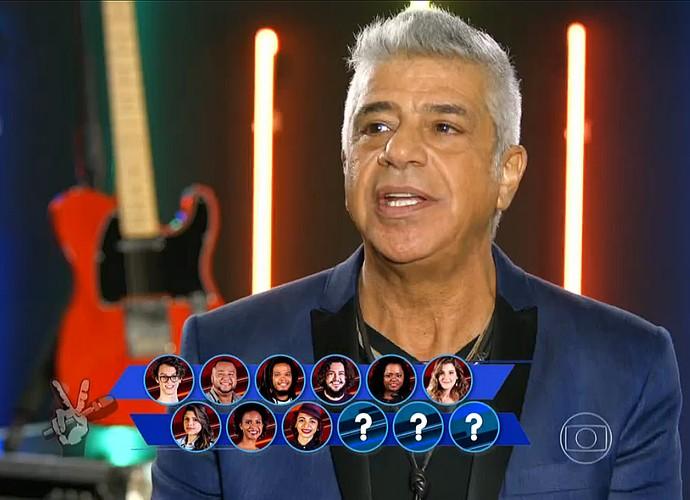Lulu Santos precisa de mais três vozes (Foto: TV Globo)