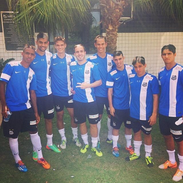Trote jogadores sub-20 Santos