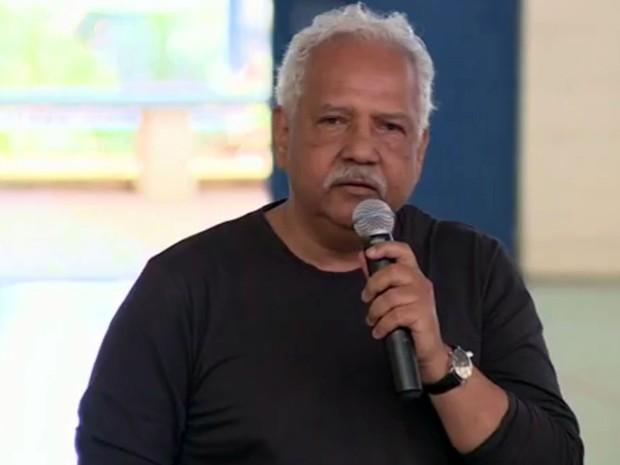 Dr. Hélio participa de debate em escola de Campinas (Foto: Reprodução/EPTV)