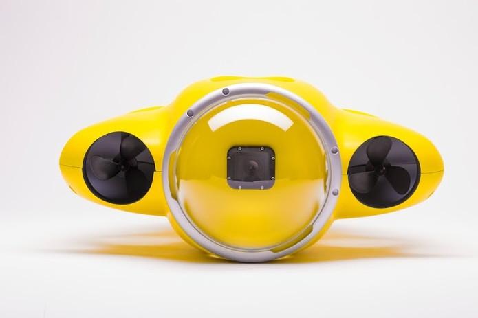 O angulo é aumentado graças a grande lente angular, assemelhando-se a um dome. (Foto: Divulgação/iBubble)