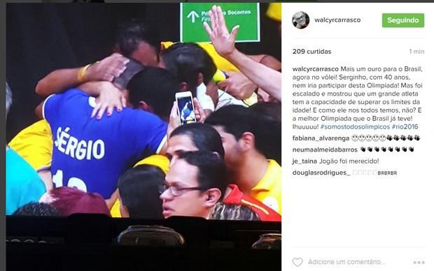 Walcyr Carrasco (Foto: Reprodução/Instagram)